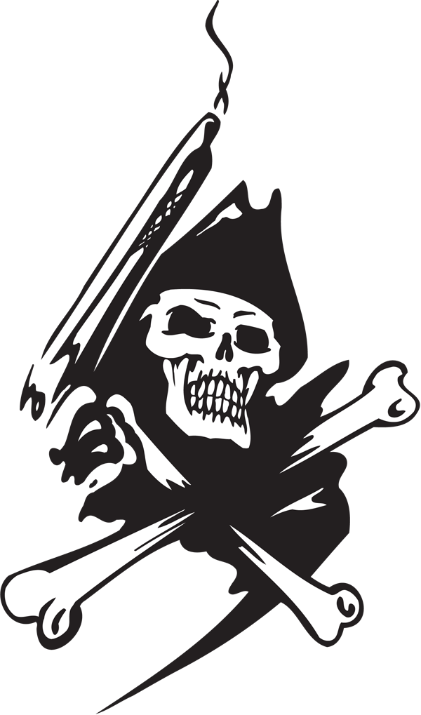Pirate Sticker #47