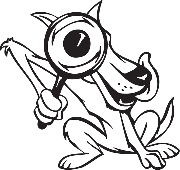 Crazy Dog Character #30