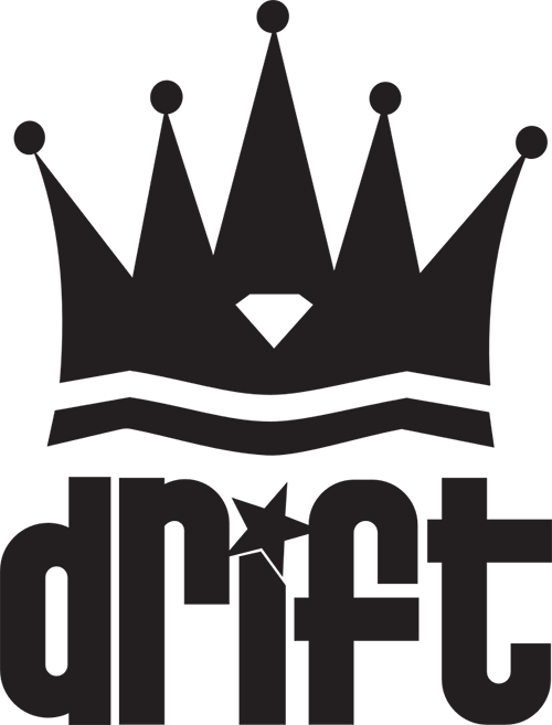 Drift Crown Vinyl Cut Sticker