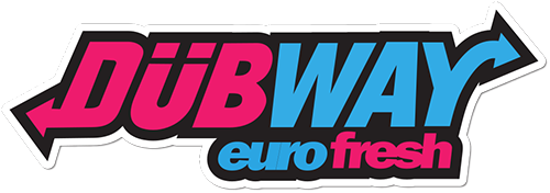 DUBWAY euro fresh Printed Sticker