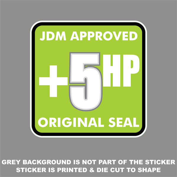 Approved Original Seal Printed Sticker