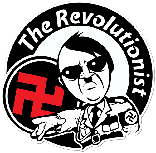 The Revolutionist Printed Sticker