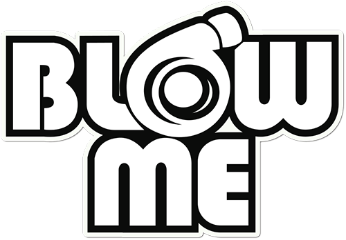 Blow Me Printed Sticker