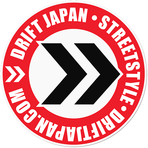 Drift Japan Streetstyle Printed Sticker