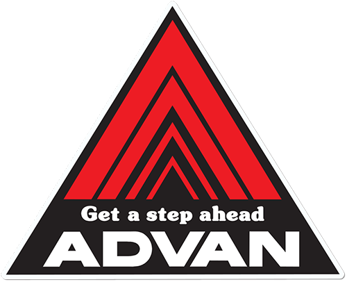 Get A Step Ahead Advan Printed Sticker