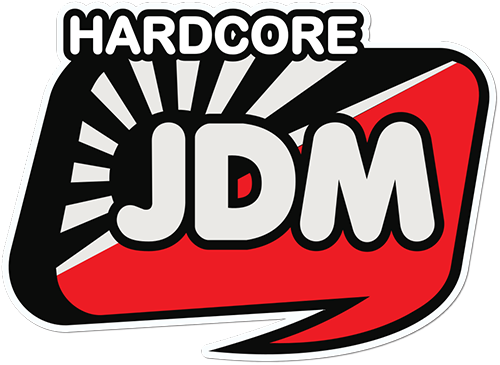 Hardcore Jdm Printed Sticker
