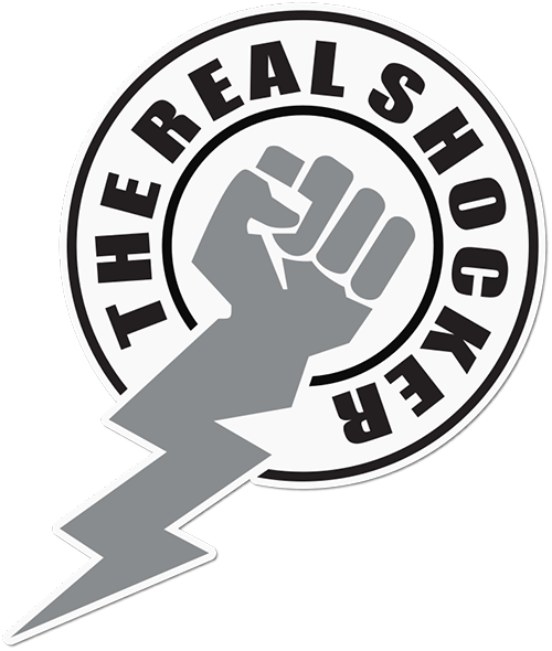 The Real Shocker Printed Sticker