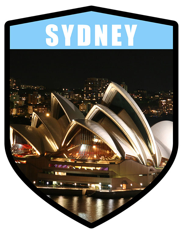 NSW Sydney City Shield Opera House