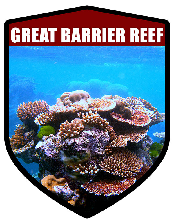 QLD Shield Great Barrier Reef