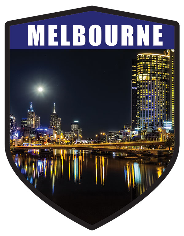 VIC Melbourne City Shield Night Lights