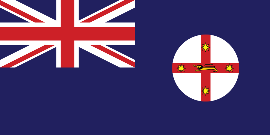 Australia New South Wales - Flag