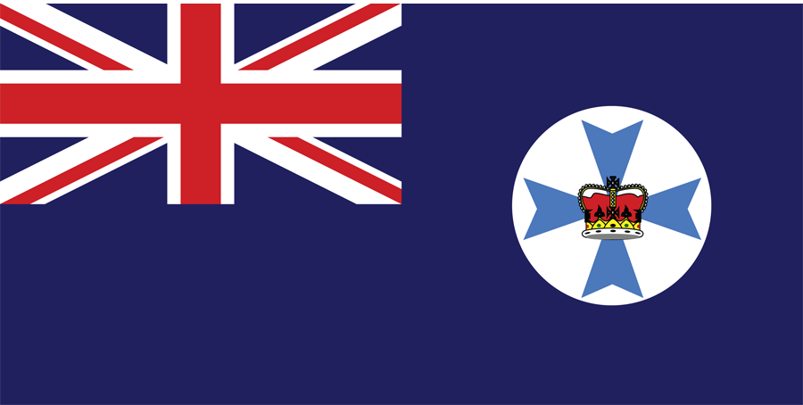 Australia Queensland - Flag
