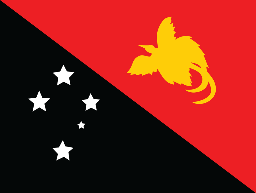 Papua New Guinea - Flag