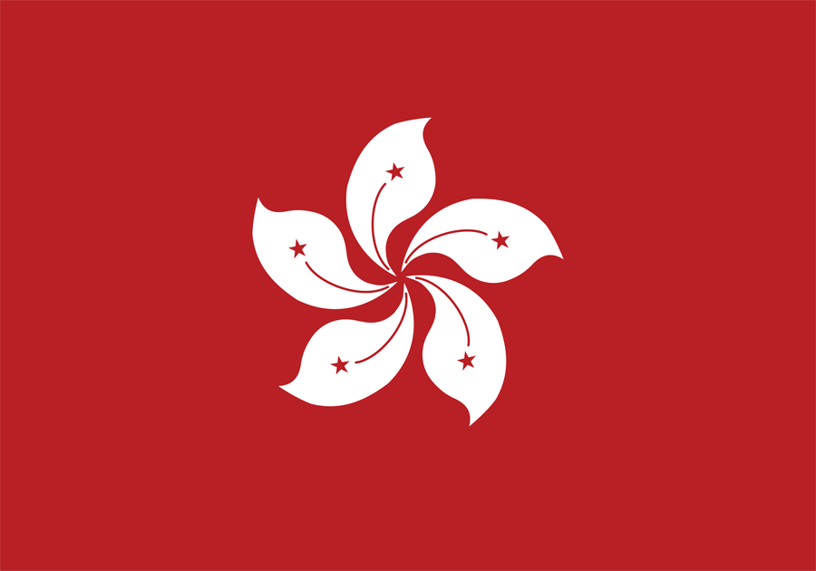 China Hong Kong - Flag