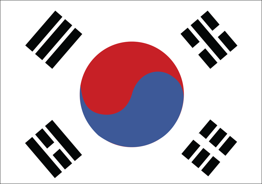 South Korea - Flag