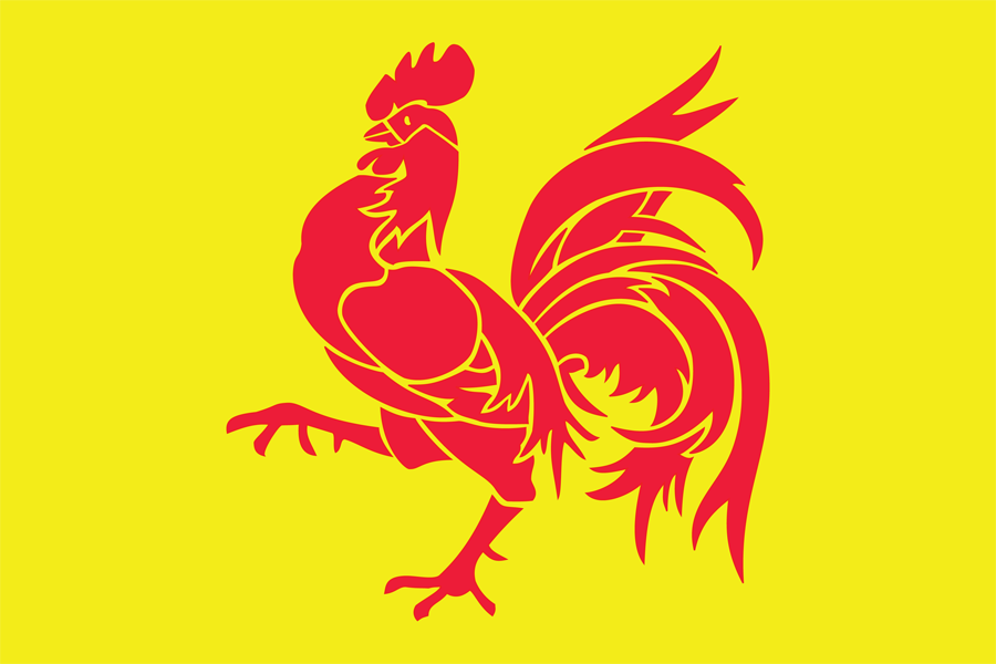 Belgium Walloon - Flag