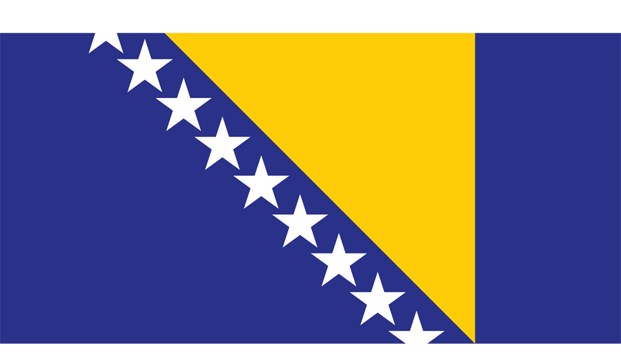 Bosnia And Herzegovina - Flag