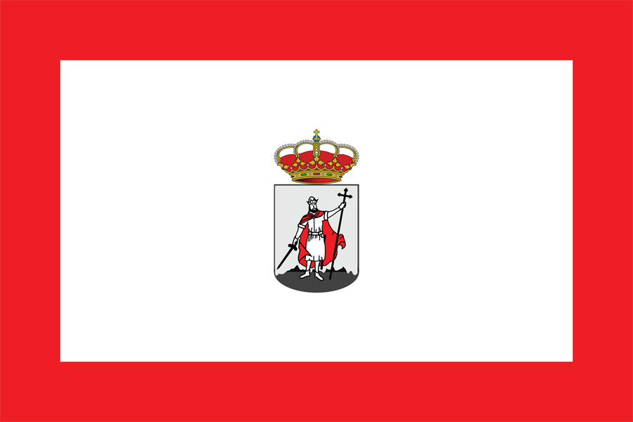 City Flag Of Gijon Ast R - Flag