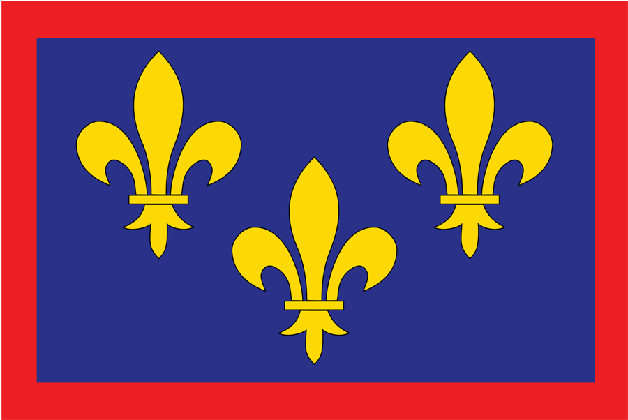 France Anjou - Flag