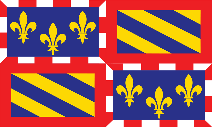 France Bourgogne - Flag