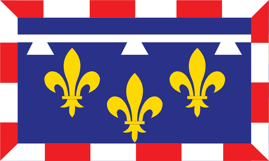 France Centre Val De Loire - Flag