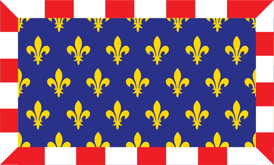 France Touraine - Flag
