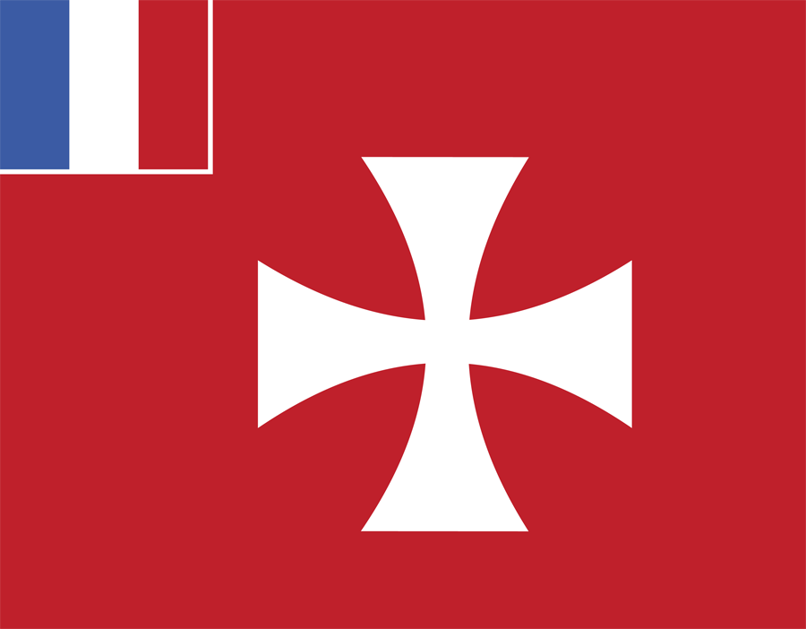 France Wallis And Futuna - Flag