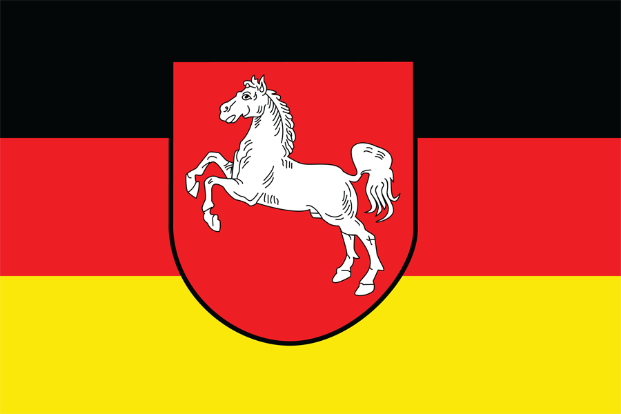 Germany Lower Saxony - Flag