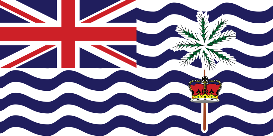 UK British Indian Ocean Territory - Flag