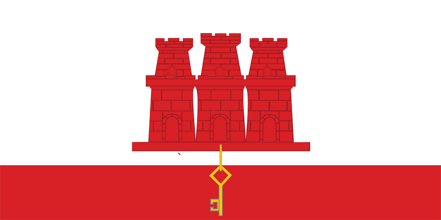 UK Gibraltar - Flag