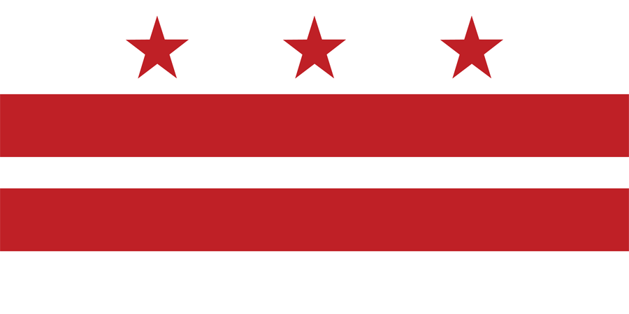 USA District Of Columbia - Flag