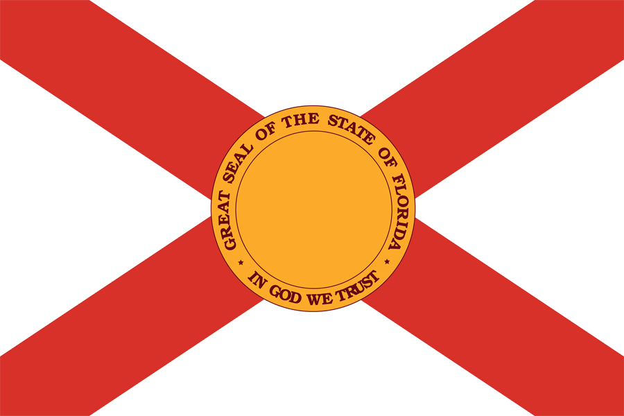 USA Florida - Flag