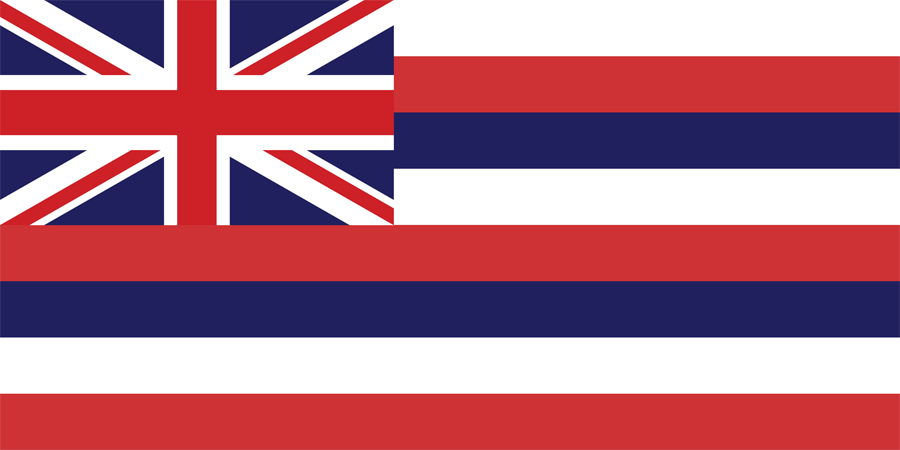 USA Hawaii - Flag