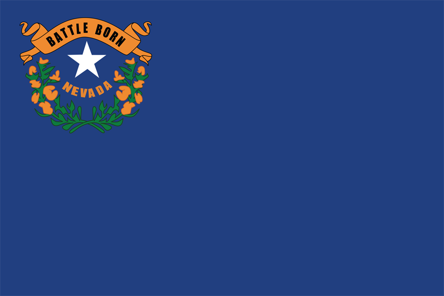 USA Nevada - Flag
