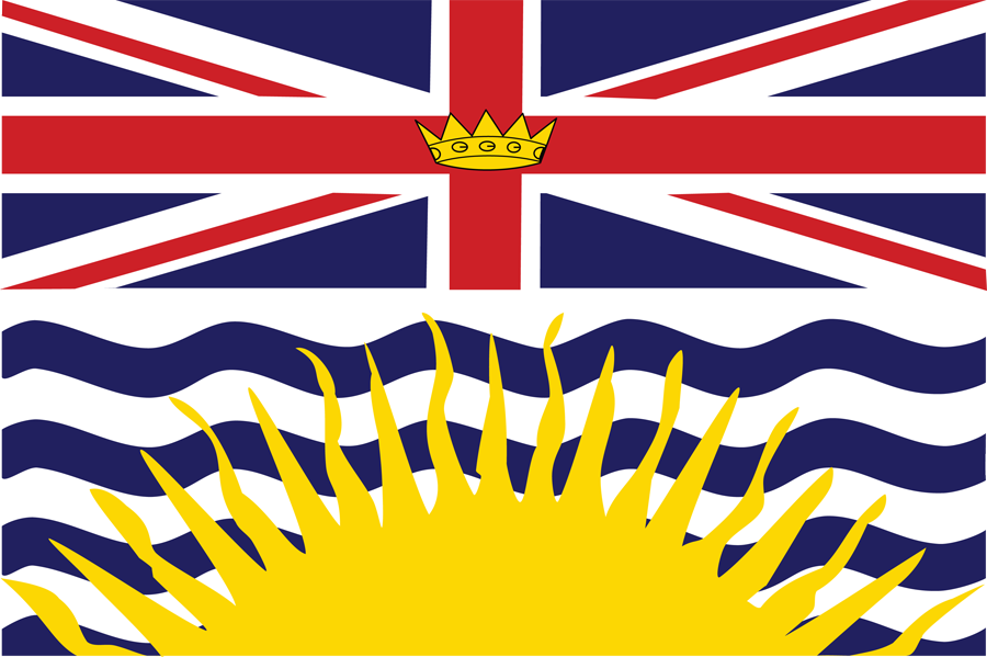 Canada British Columbia - Flag