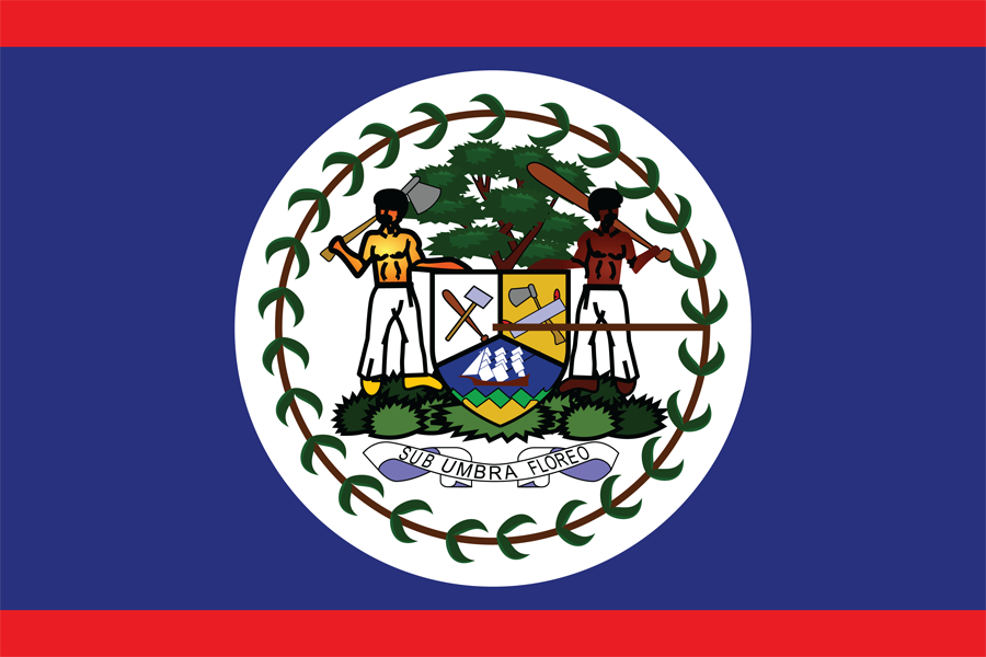 Belize - Flag