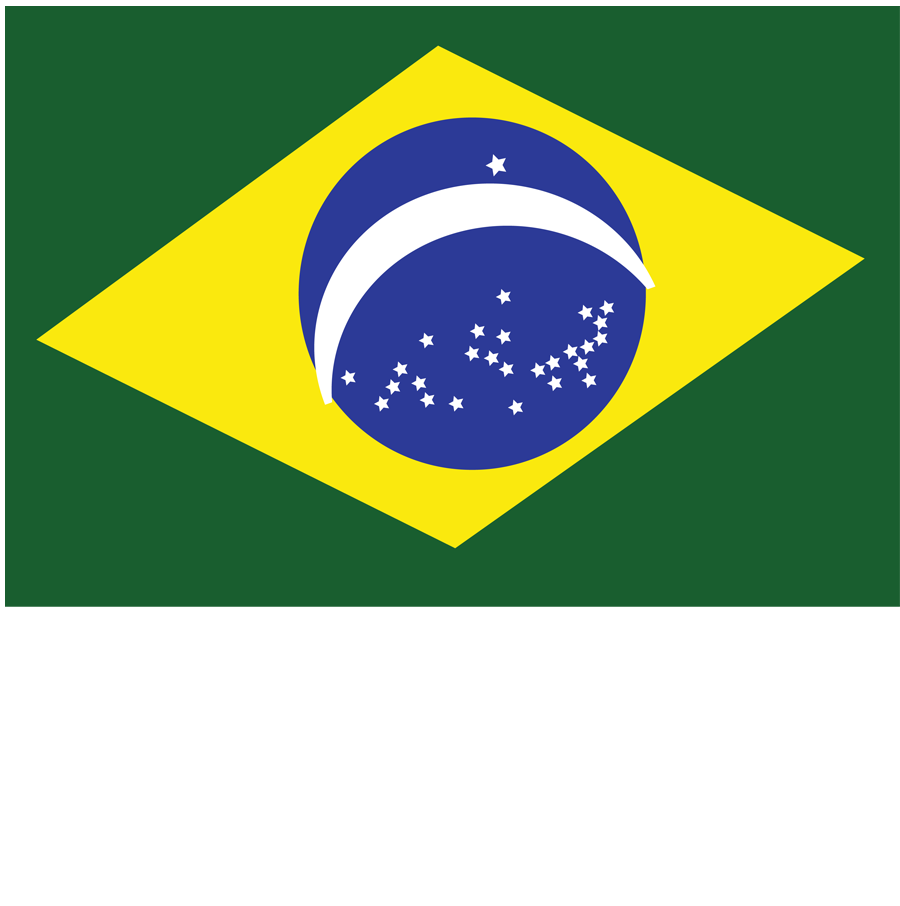Flag Brazil Crystal Feli  - Flag