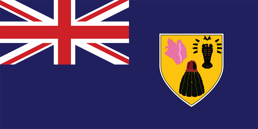 Turks And Caicos - Flag