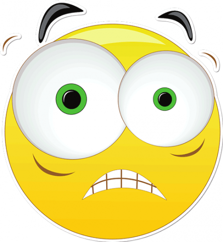 Image result for Freaked Out Face