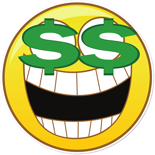 Image result for money happy face