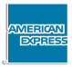 American Express Logo with Outline