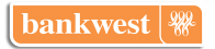 Bank West Logo with Outline
