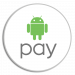Android Pay Logo Contour Cut