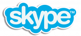 Skype Logo With Outline
