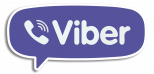 Viber Logo With Outline