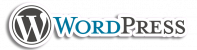 WordPress Logo with Outline