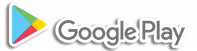 Google Play Logo With Outline