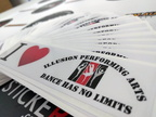 160715 illusion performance arts dance has no limits custom stickers capalaba queensland