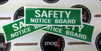 2016 06 safety notice board stickers