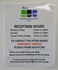201612-custom-sticker-sign-riverside-holiday-reception-hours-printed